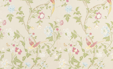 Large Floral Wallpaper for Walls