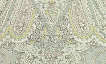 Large Paisley Wallpaper