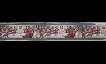 Last Supper Wallpaper Border