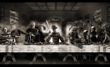 Last Supper Wallpaper