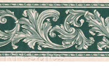 Leaf and Scroll Wallpaper Border