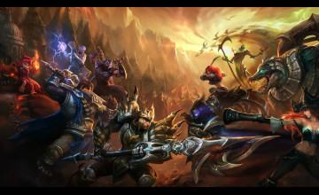 League of Legends Champions Wallpaper