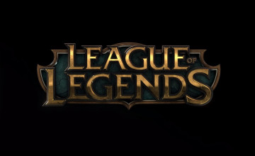 League of Legends Logo Wallpaper