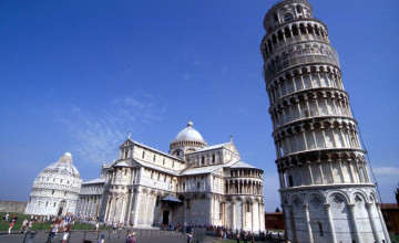 Leaning Tower Of Pisa Wallpaper
