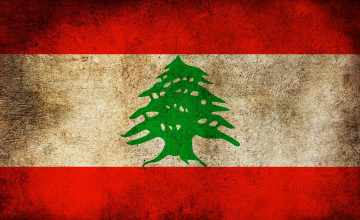 Lebanon Flag Wallpapers