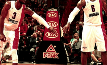 LeBron James Dwyane Wade Wallpaper