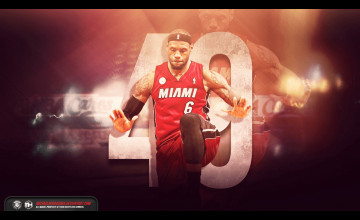 Lebron James Miami Heat Wallpaper 2016