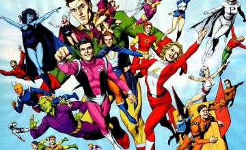 Legion of Superheroes Wallpaper