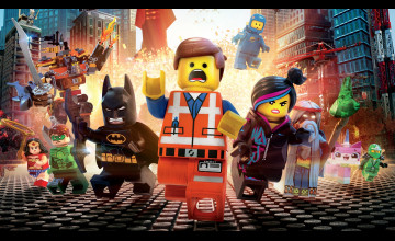 LEGO Movie Desktop Wallpaper