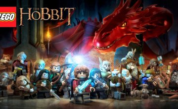 LEGO The Hobbit Wallpaper