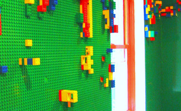 LEGO Wallpaper for Bedroom Walls