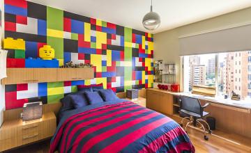 LEGO Wallpaper for Bedroom