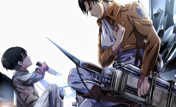 Levi Wallpaper Attack on Titan