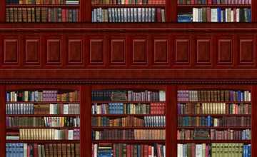 Library Book Wallpaper for Walls