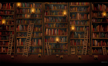 Library Wallpaper Images