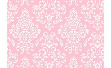 Light Pink Damask Wallpaper