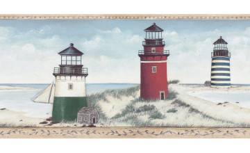 Lighthouse Borders Wallpaper Lowes