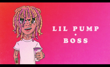 Lil Lil Pump Boss Wallpaper