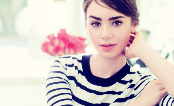 Lily Collins Wallpaper HD