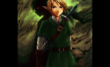 Link and Dark Link Wallpaper