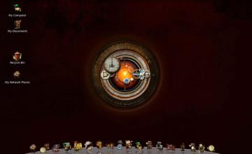 Linux Steampunk Wallpaper