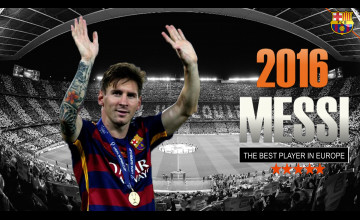 Lionel Messi HD Wallpapers 2016