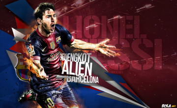 Lionel Messi Wallpaper HD 2014