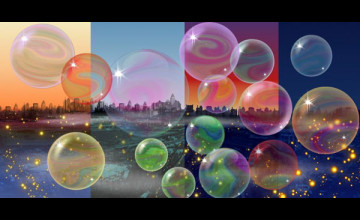 Live Bubbles Wallpaper for Desktop
