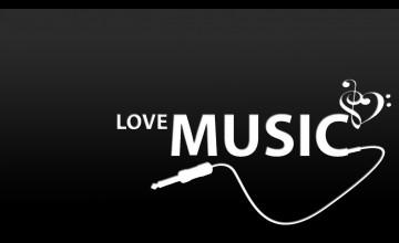 Live Love Music Wallpaper