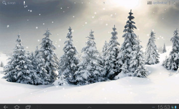 Live Snowfall Wallpaper for Desktop