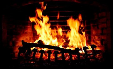 Live Wallpaper Fireplace