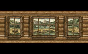 Lodge Wallpaper for Walls