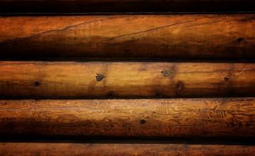 Log Cabin Style Wallpaper
