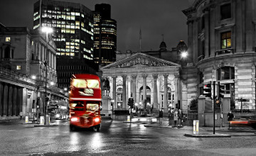 London Bus Wallpaper