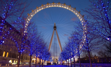 London Eye HD Wallpaper