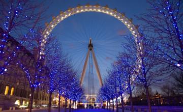 London Eye HD Wallpaper