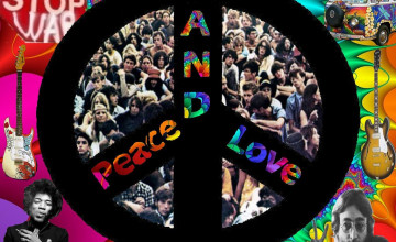 Love and Peace Wallpaper