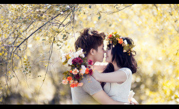 Lovers Kiss Wallpapers