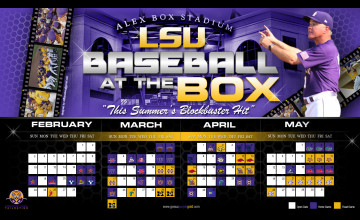 LSU Baseball Wallpaper 2015