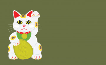 Lucky Cat Wallpaper