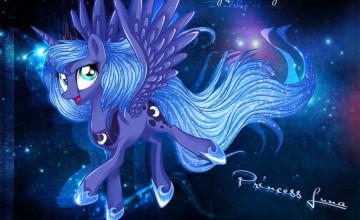 Luna Wallpaper MLP