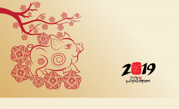 Lunar New Year 2019 Wallpapers