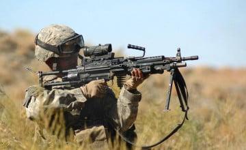 M249 SAW Wallpaper