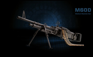 M60 Machine Gun Wallpaper