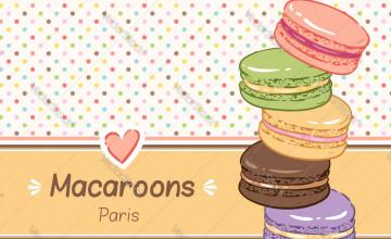 Macarons Background