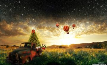 Magic Kingdom Christmas Wallpaper