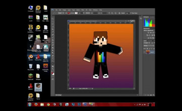 Make My Own Minecraft Wallpaper