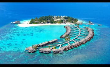 Maldives Island Resorts Wallpaper