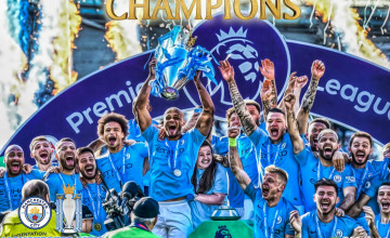 Manchester City Premier League Champions 2019 Wallpapers