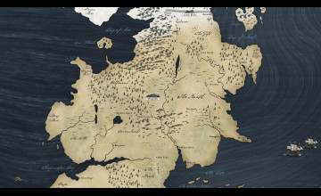 Map of Westeros Wallpaper
